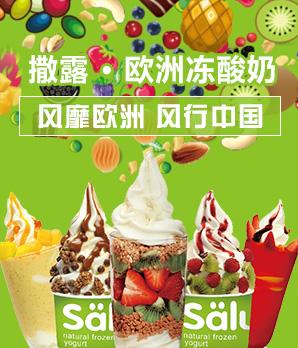 撒露冻酸奶加盟