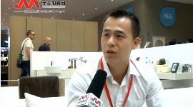 科马卫浴2014上海厨卫展--全球加盟网专访