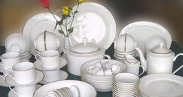 三饶日用陶瓷产品远销海外