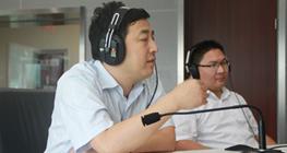 蓝宇教育集团董事长应邀做客安徽经济广播名校访谈栏目