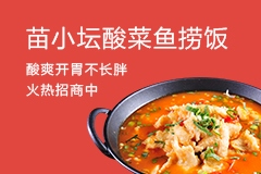 苗小壇酸湯魚撈飯